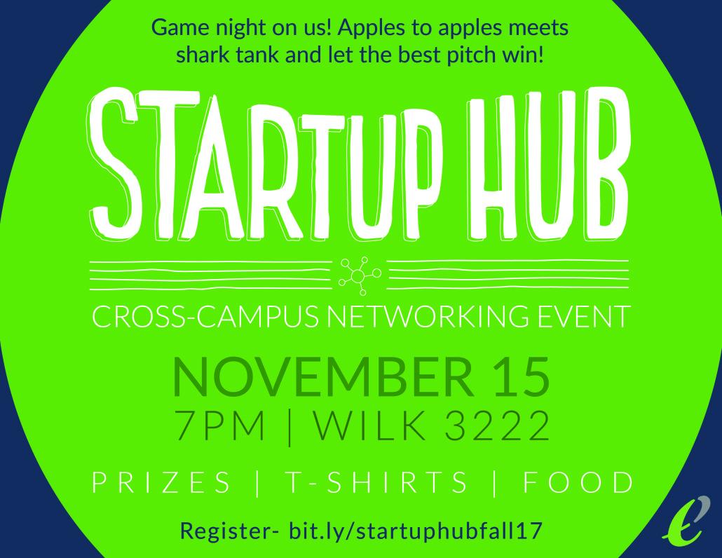 Startup Hub Flyer